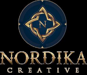 Nordika Creative Agency DFW vertical Logo design