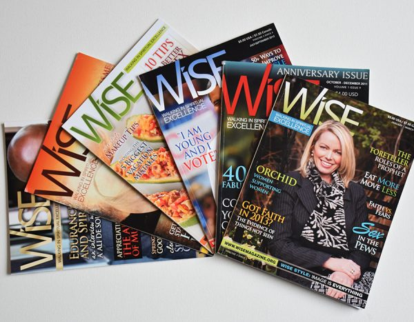 Wise Magazine Issues - Nordika Creative Publication Design